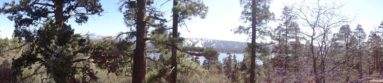 Panorama of Lake & Snow Summit